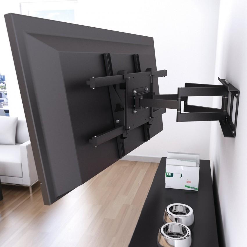 Кронштейны для телевизора 33 фото как выбрать крепление белого и других цветов Как подобрать крепежи для телевизоров 55 дюймов и других размеров