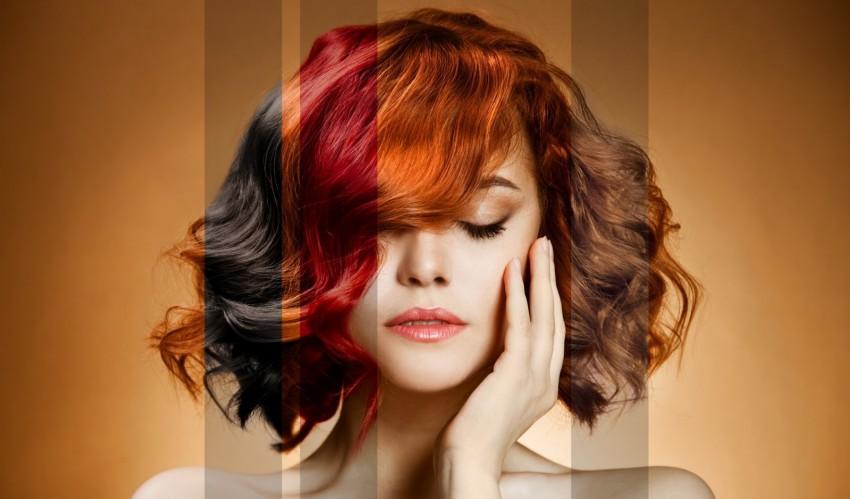 Оттеночный тоник для волос палитра